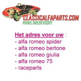 Prins Bredevoort Alfa Classical parts